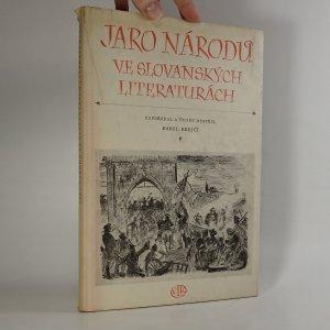 náhled knihy - Jaro národů ve slovanských literaturách