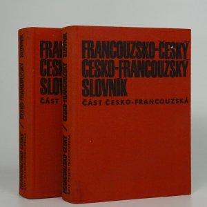 náhled knihy - Francouzsko-český, česko-francouzský slovník (2 svazky)