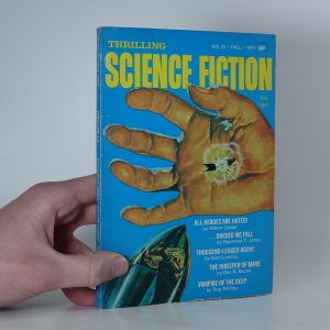 náhled knihy - Thrilling Science Fiction No. 21