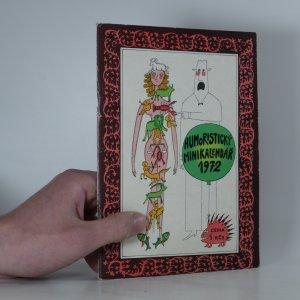náhled knihy - Humoristický minikalendář 1972