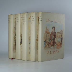 náhled knihy - F. L. Věk (5 dílů v 5 svazcích)