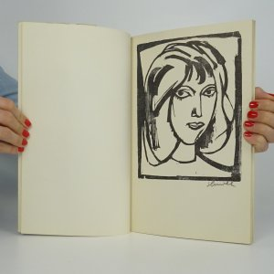 antikvární kniha Ženy (asi podpis K. Hrušky), 1978