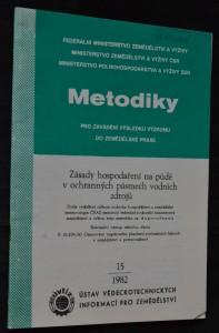 náhled knihy - Metodiky pro zavádění výsledků výzkumu do zemědělské praxe