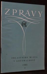 náhled knihy - Zprávy oblastního muzea v Gottwaldově č. 2