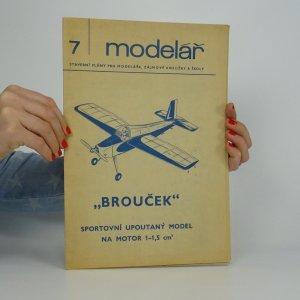 náhled knihy - Brouček. Sportovní upoutaný model na motor. (Modelář č. 7)