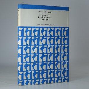 náhled knihy - R.U.R. Bílá nemoc. Matka