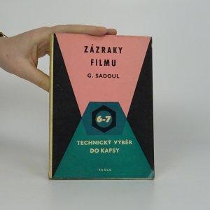 náhled knihy - Zázraky filmu