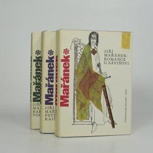 náhled knihy - Romance o Závišovi. Petr Kajícník. Barbar Vok. (3 svazky, komplet)
