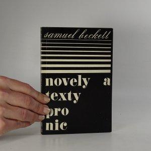náhled knihy - Novely a texty pro nic