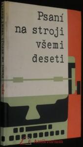 náhled knihy - Psaní na stroji všemi deseti