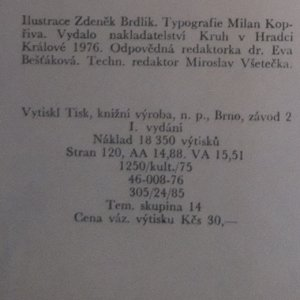 antikvární kniha Rezavý kožíšek, 1976