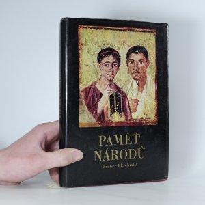 náhled knihy - Paměť národů