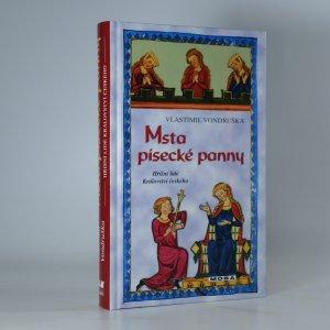 náhled knihy - Msta písecké panny
