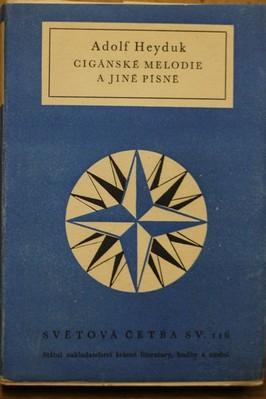 náhled knihy - Cigánské melodie a jiné písně