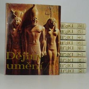 náhled knihy - Dějiny umění (10 svazků)