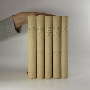 antikvární kniha Zrádné srdce. Dobrodružství A. G. Pyma. Maska červené smrti. Zánik domu Usherova. Skokan. (5 svazků), 1927