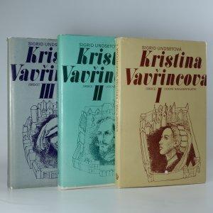 náhled knihy - Kristina Vavřincová I-III. Věnec. Paní. Kříž. (3 svazky, komplet)