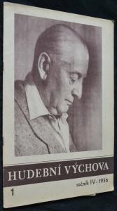 náhled knihy - Hudební výchova, roč. IV, 1956, č. 1