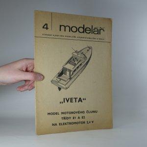 náhled knihy - Iveta. Model motorového člunu třídy E1 a E2 na elektromotor 2,4 V. (Modelář č. 4)