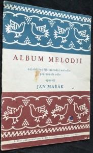 náhled knihy - Album melodií: nejoblíbenější národní melodie pro housle sólo