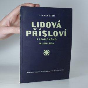náhled knihy - Lidová přísloví z logického hlediska