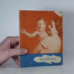 náhled knihy - Matkám
