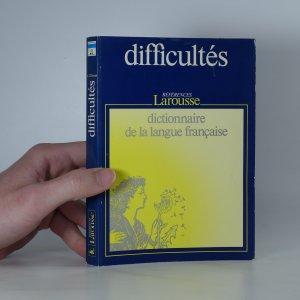 náhled knihy - Dictionnaire des difficultés de la langue française