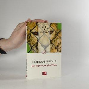 náhled knihy - L'éthique animale