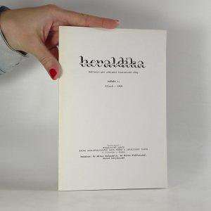 náhled knihy - Heraldika. Ročník I. 1968