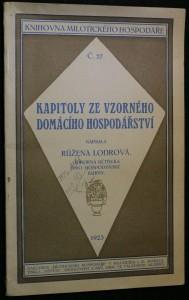 náhled knihy - Kapitoly ze vzorného domácího hospodářství