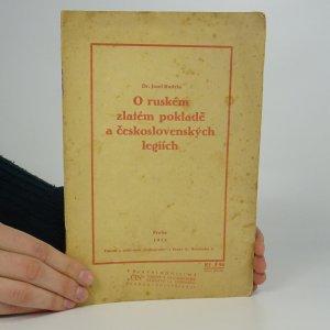náhled knihy - O ruském zlatém pokladě a československých legiích