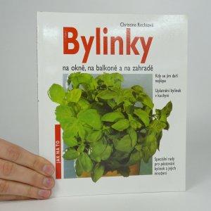 náhled knihy - Bylinky na okně, na balkoně a na zahradě