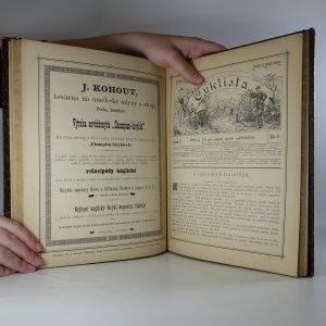 antikvární kniha Cyklista. Odborný list pro zájmy sportu cyklistického. 1. ročník, 1885
