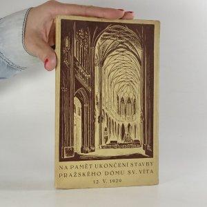 náhled knihy - Konsekrace velechrámu Svatého Víta