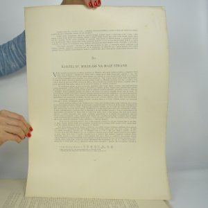 antikvární kniha Všem věrným Čechům a sobě Královská Praha (nekompletní, viz poznámka), neuveden