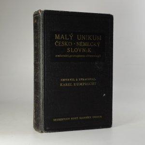 náhled knihy - Malý Unikum česko-německý a německo-český slovník