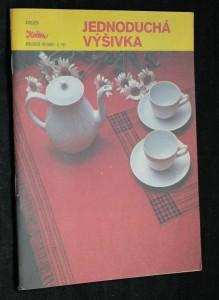 náhled knihy - Jednoduchá výšivka, č. 101, kolekce VI
