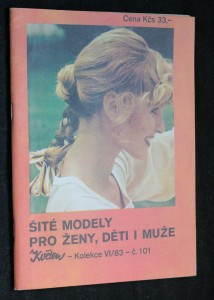 náhled knihy - Šité modely pro ženy, děti i muže, č. 101, kolekce VI