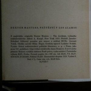 antikvární kniha Neštěstí v Los Alamos, 1958