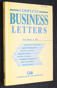 náhled knihy - Complete business letters