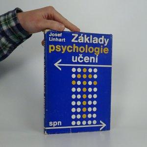 náhled knihy - Základy psychologie učení : vysokoškolská učebnice pro posluchače fakult připravujících učitele