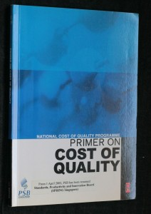 náhled knihy - Primer on cost of quality