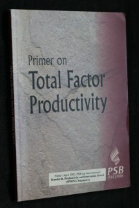 náhled knihy - Primer on Total factor Productivity