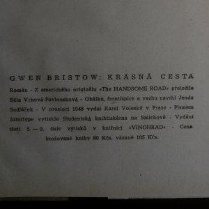 antikvární kniha Krásná cesta, 1947