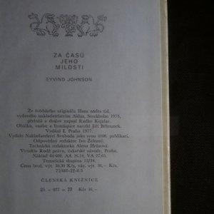 antikvární kniha Za časů Jeho Milosti, 1977