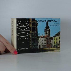 náhled knihy - Česká města II