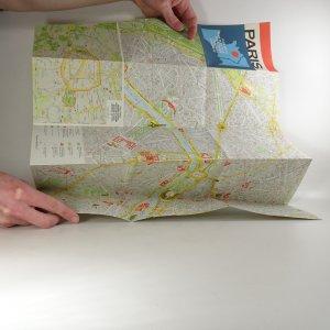 antikvární kniha Paris: plán města, 1991