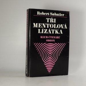 náhled knihy - Tři mentolová lízátka