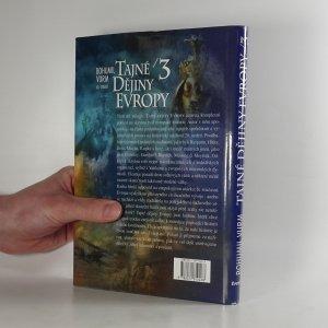 antikvární kniha Tajné dějiny Evropy, neuveden
