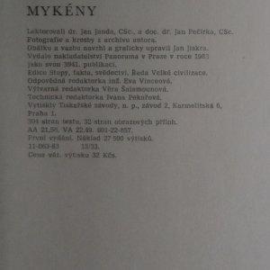 antikvární kniha Zlaté Mykény, 1983